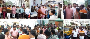 Begum bazar padayatra 24-12-2014