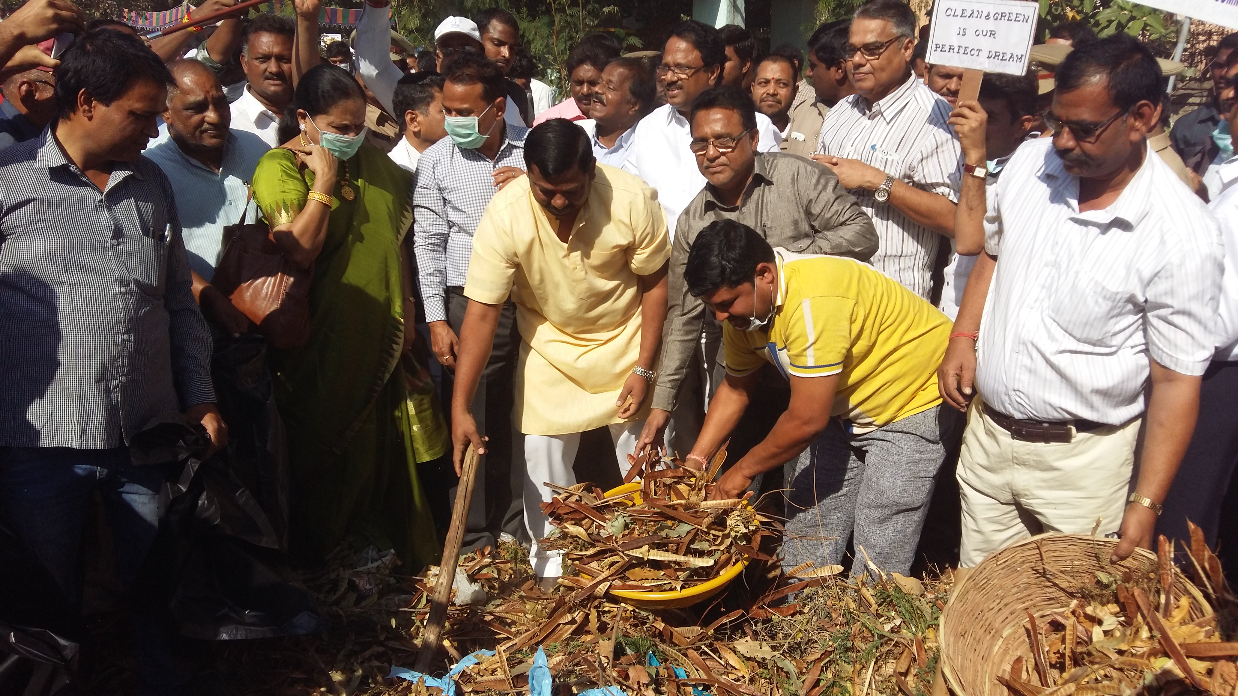Participated in Swachh Bharat program in Osmania Hospital, Afzalgunj,